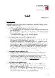 FAQ - Hochschule Kehl