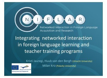 foreign language interaction analysis In foreign language learning,  there are several theories of second language acquisition which  social interaction is the key to language processing.