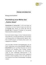 PRESSE INFORMATION - Human Solutions GmbH