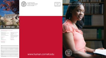 Perspectives - College of Human Ecology - Cornell University