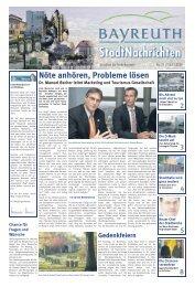 Amtsblatt Nr. 21/09 vom 13. November 2009 - Stadt Bayreuth