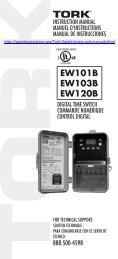 EW101B EW103B EW120B - Water Heater Timers Save Money