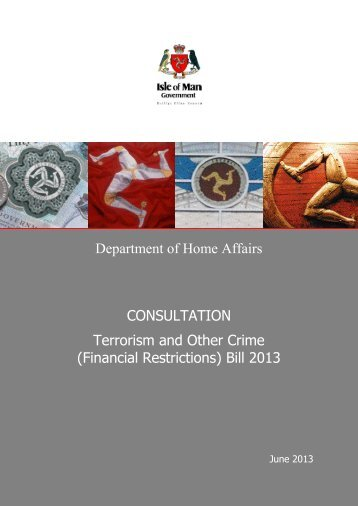 Terrorism and Other Crime (Financial Restrictions) Bill 2013
