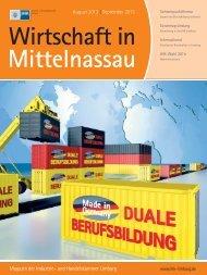 IHK Magazin Limburg/ Weilburg 08-09/2013 - B4B MITTELHESSEN