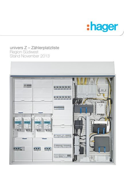 70 mm² Hager NH00-Trenner 3 x 160 A Hutprofils