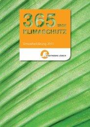 Umweltbericht 2011 - Die Stadtwerke Lübeck