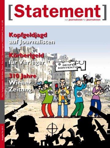 Mai 2013 - Österreichischer Journalisten Club