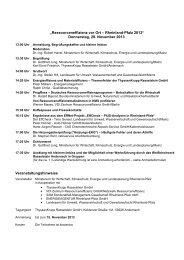 Programm und Anmeldeformular - neress.de