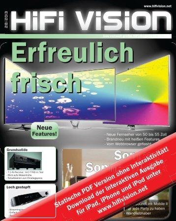 Hifi Vision 28/2013 - HFX