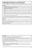 Manual - Panasonic - Page 3