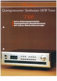 T-105 - - Accuphase