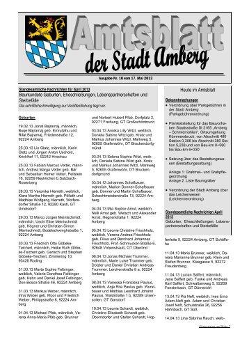 Nr. 10/2013 - Stadt Amberg