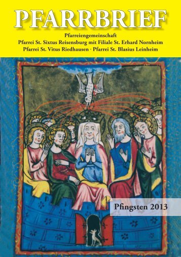 INNEN pfingsten 2013.indd - Bistum Augsburg