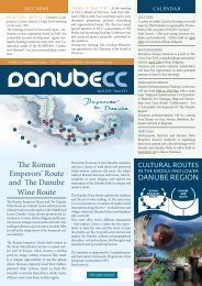 The Roman Emperors' Route and The Danube Wine Route