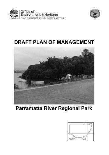 Parramatta River Regional Park draft plan of management