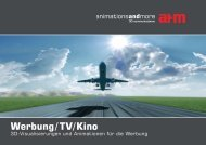 Werbung/TV/Kino - animations and more