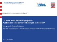 Æ'Æ'Ausbau Erneuerbare Energien in Hessen - 5. Kongress