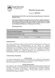 Vorlage aus dem Ausschuss für Planung und Bau vom ... - Bocholt