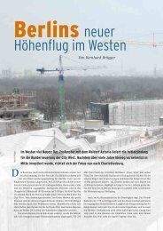 Berlins neuer Höhenflug im Westen - Convention-International