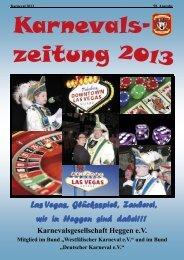Karnevalszeitung 2013 - foto-sprenger.de