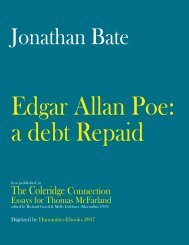 Edgar Allan Poe: A Debt Repaid - Humanities-Ebooks
