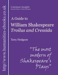 """The most modern of Shakespeare's Plays"" - Humanities-Ebooks"