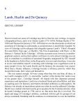 Lamb, Hazlitt and De Quincey - Humanities-Ebooks - Page 5