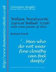 General Editor: Charles Moseley - Humanities-Ebooks