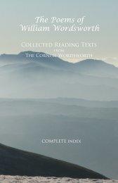 The Poems of William Wordsworth - Humanities-Ebooks