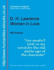 Women in Love - Humanities-Ebooks