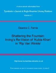 Rip Van Winkle - Humanities-Ebooks
