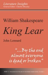 William Shakespeare - Humanities-Ebooks