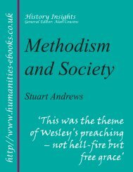 Methodism and Society - Humanities-Ebooks