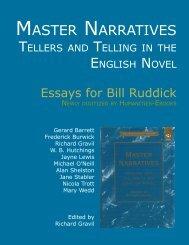 Master Narratives - Humanities-Ebooks