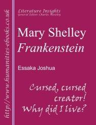 Mary Shelley: Frankenstein - Humanities-Ebooks