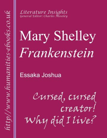 a literary analysis of victor in frankenstein by mary shelley