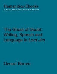 The Ghost of Doubt - Humanities-Ebooks