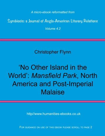 No Other Island in the World - Humanities-Ebooks