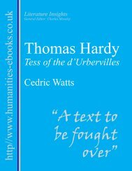 Thomas Hardy - Humanities-Ebooks