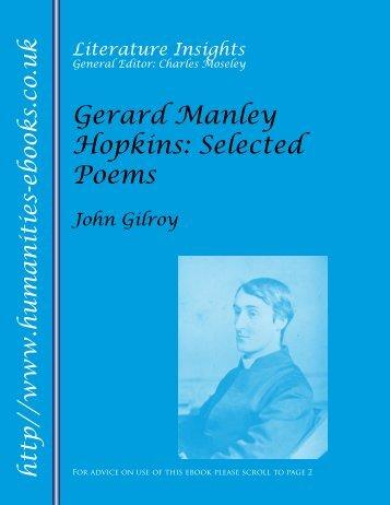 Gerard Manley Hopkins - Humanities-Ebooks