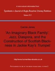 'An Imaginary Black Family': Jazz, Diaspora, and the Construction of ...