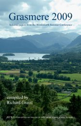 Grasmere 2009 - Humanities-Ebooks
