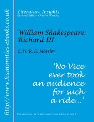 William Shakespeare: Richard III ISBN 978-1-84760-029-5
