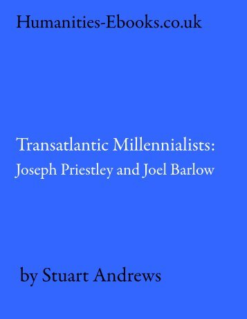 Transatlantic Millennialists - Humanities-Ebooks