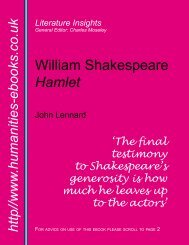 William Shakespeare: Hamlet - Humanities-Ebooks
