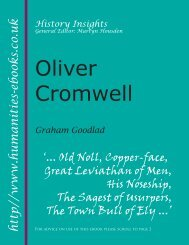 Oliver Cromwell - Humanities-Ebooks
