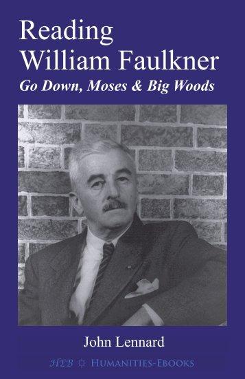 Reading William Faulkner - Humanities-Ebooks