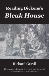 Chapter 1. Why read Bleak House? - Humanities-Ebooks