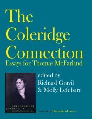 The Coleridge Connection - Humanities-Ebooks