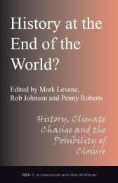 History at the End of the World? - Humanities-Ebooks